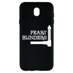 Чохол для Samsung J7 2017 Peaky Blinders and weapon