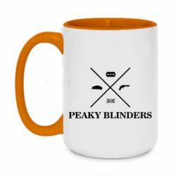 Кружка двоколірна 420ml Peaky Blinders I