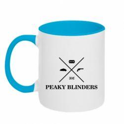 Кружка двоколірна 320ml Peaky Blinders I