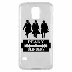 Чохол для Samsung S5 Peaky Blinders