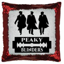 Подушка-хамелеон Peaky Blinders
