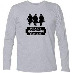 Подовжена футболка Peaky Blinders