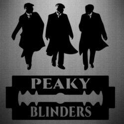 Наклейка Peaky Blinders