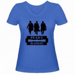 Жіноча футболка з V-подібним вирізом Peaky Blinders