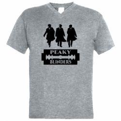 Чоловіча футболка з V-подібним вирізом Peaky Blinders