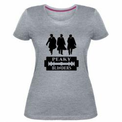 Жіноча стрейчева футболка Peaky Blinders
