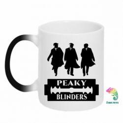 Кружка-хамелеон Peaky Blinders