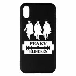 Чохол для iPhone X/Xs Peaky Blinders