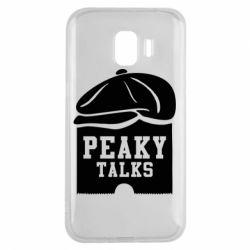 Чохол для Samsung J2 2018 Peaky talks