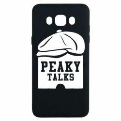 Чохол для Samsung J7 2016 Peaky talks