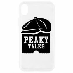 Чехол для iPhone XR Peaky talks