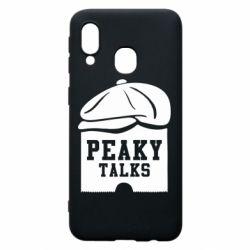 Чохол для Samsung A40 Peaky talks
