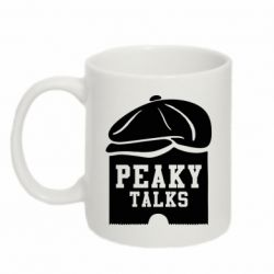 Кружка 320ml Peaky talks