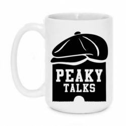 Кружка 420ml Peaky talks