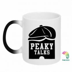 Кружка-хамелеон Peaky talks