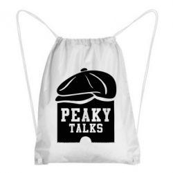 Рюкзак-мішок Peaky talks