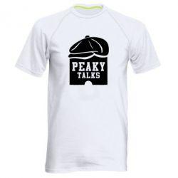 Чоловіча спортивна футболка Peaky talks
