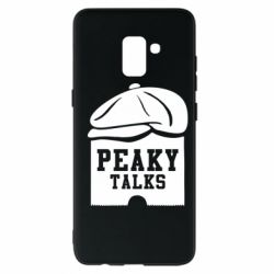 Чехол для Samsung A8+ 2018 Peaky talks