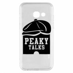 Чохол для Samsung A3 2017 Peaky talks