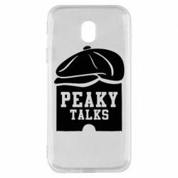 Чохол для Samsung J3 2017 Peaky talks