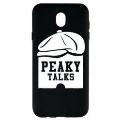 Чохол для Samsung J7 2017 Peaky talks