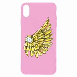 Чехол для iPhone Xs Max Pearl and wing