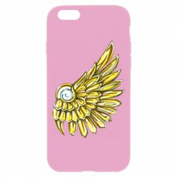 Чехол для iPhone 6/6S Pearl and wing