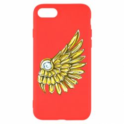 Чехол для iPhone 7 Pearl and wing