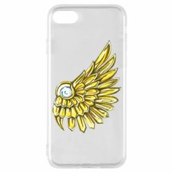 Чехол для iPhone 8 Pearl and wing
