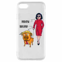 Чехол для iPhone 7 Pelosi and Trump