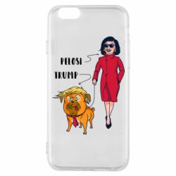 Чехол для iPhone 6/6S Pelosi and Trump