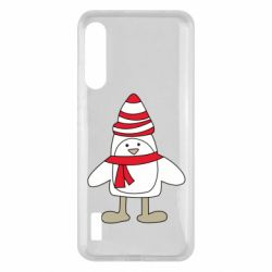Чохол для Xiaomi Mi A3 Penguin in the hat and scarf