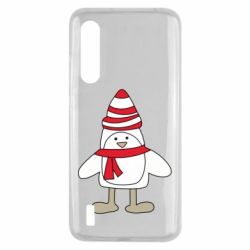 Чехол для Xiaomi Mi9 Lite Penguin in the hat and scarf