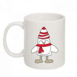 Кружка 320ml Penguin in the hat and scarf - FatLine
