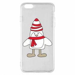 Чехол для iPhone 6 Plus/6S Plus Penguin in the hat and scarf