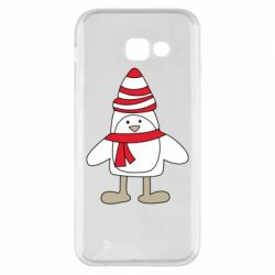 Чехол для Samsung A5 2017 Penguin in the hat and scarf