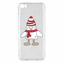 Чехол для Xiaomi Mi5/Mi5 Pro Penguin in the hat and scarf
