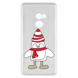 Чехол для Xiaomi Mi Mix 2 Penguin in the hat and scarf