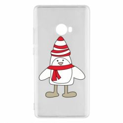 Чехол для Xiaomi Mi Note 2 Penguin in the hat and scarf