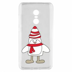 Чехол для Xiaomi Redmi Note 4 Penguin in the hat and scarf
