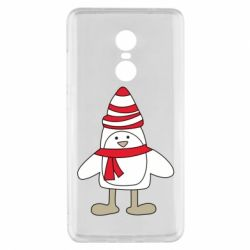 Чехол для Xiaomi Redmi Note 4x Penguin in the hat and scarf