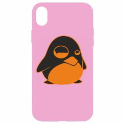 Чехол для iPhone XR Penguin