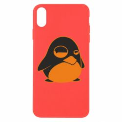 Чехол для iPhone Xs Max Penguin