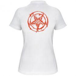 Женская футболка поло Пентаграмма - FatLine