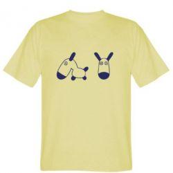 Мужская футболка перед і профіль - FatLine