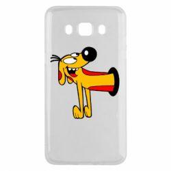 Чехол для Samsung J5 2016 Пес