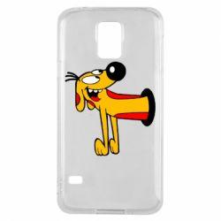 Чехол для Samsung S5 Пес