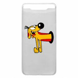 Чехол для Samsung A80 Пес