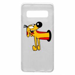 Чехол для Samsung S10 Пес