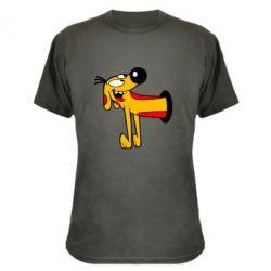 Камуфляжная футболка Пес
